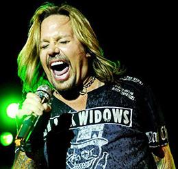 Vince Neil Mötley Crüe