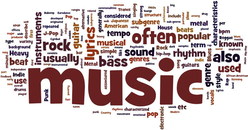 Una lista di tutti i generi musicali esistenti al mondo? Qualcuno li ha contati, e sono 1264.