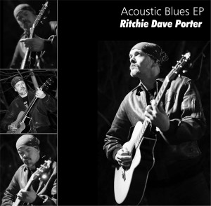 Ritchie Dave Porter- acoustic blues-front cover