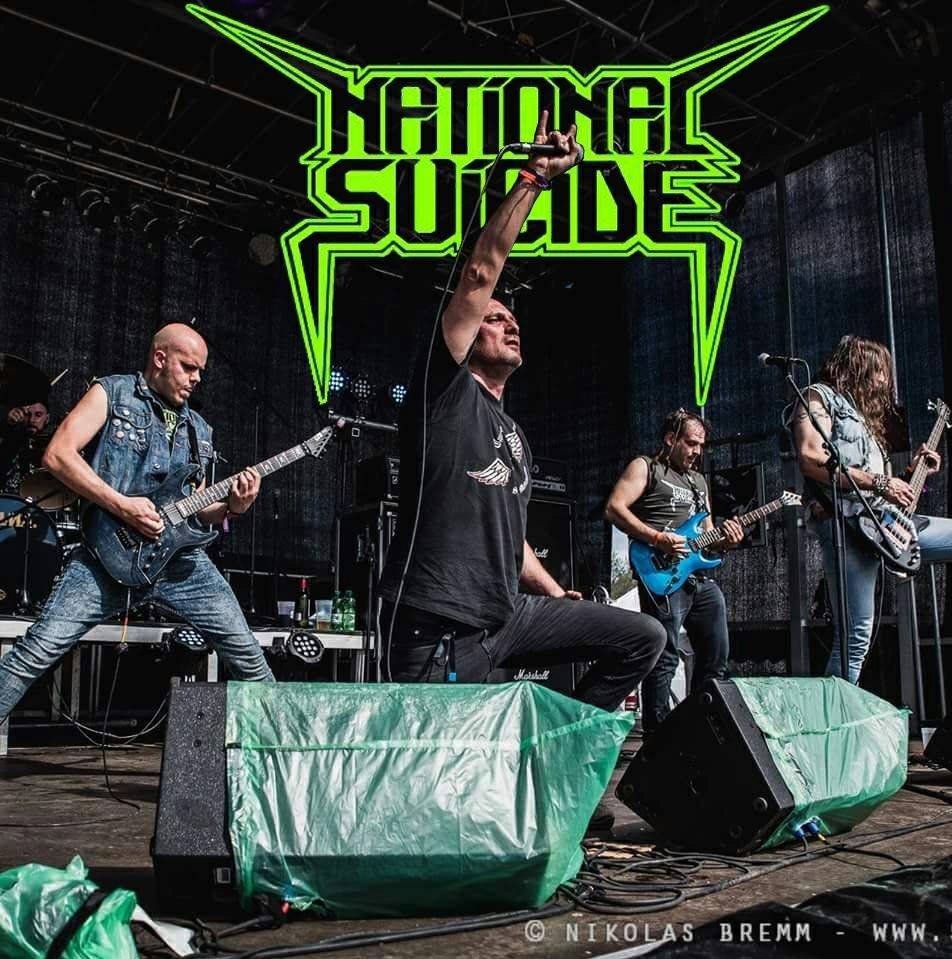 Take Me To The Dive Bar – Nuovo singolo per i National Suicide