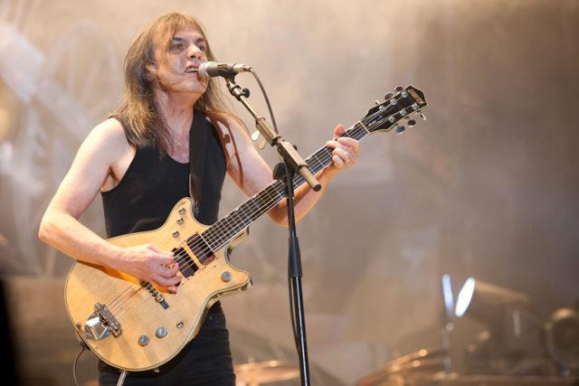 AC/DC: È morto Malcom Young