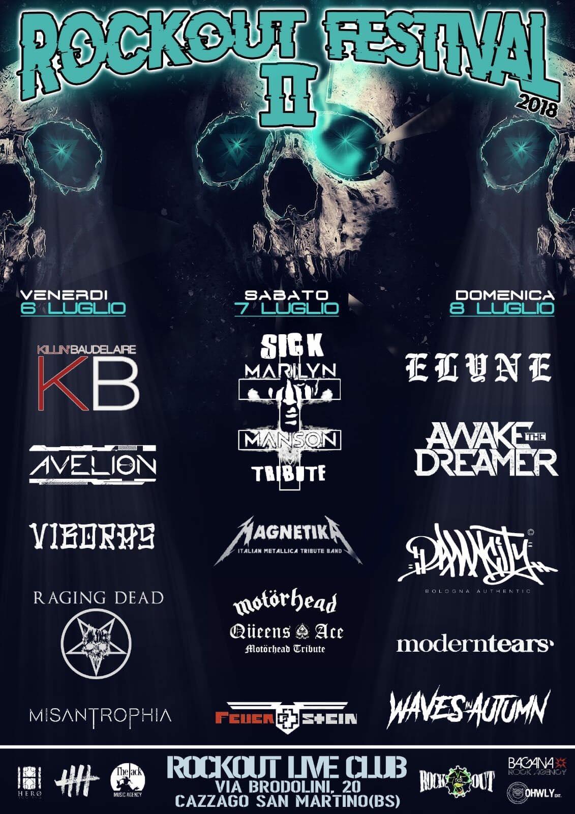 Rockout Festival II° Edition – Pronti ad infiammare un'altra estate