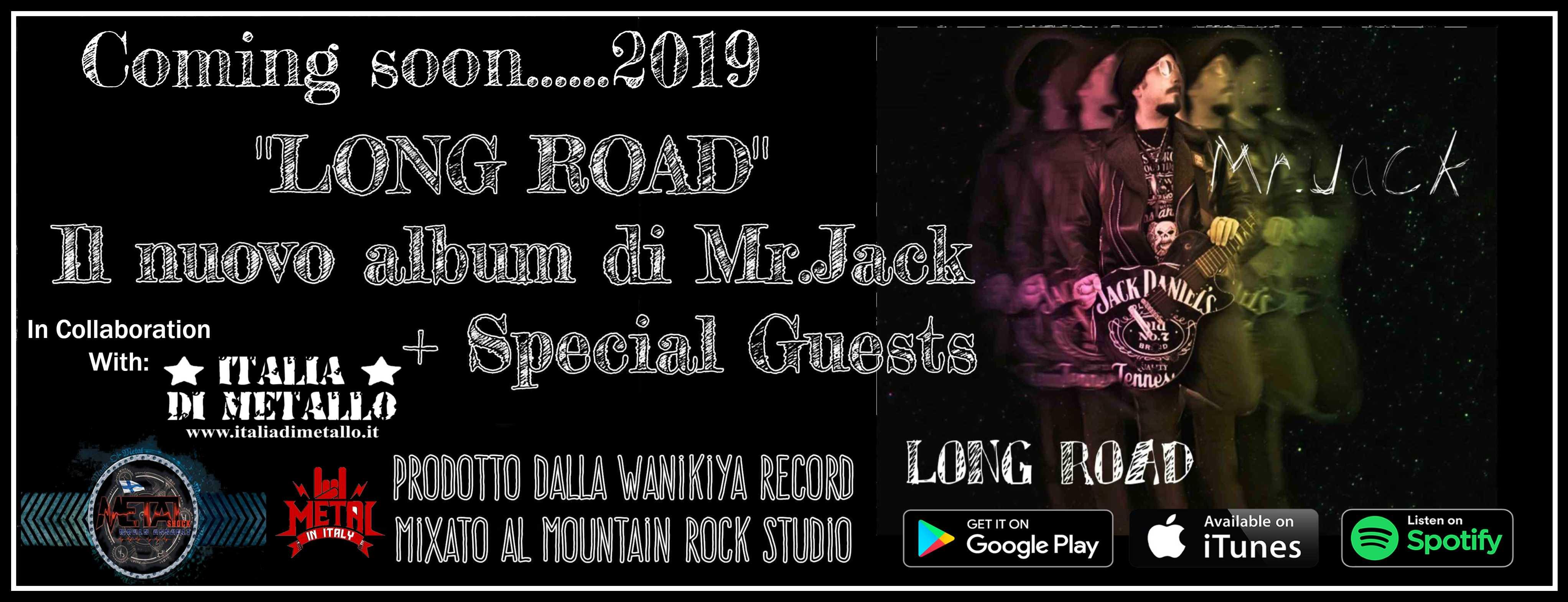 Un nuovo album per Mr.Jack – Prime indiscrezioni