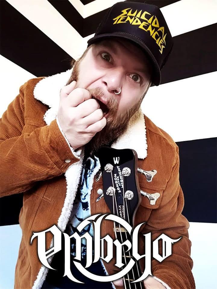 Embryo – Gabriel Pignata, il bassista dei Destrage, suonerà nei prossimi concerti