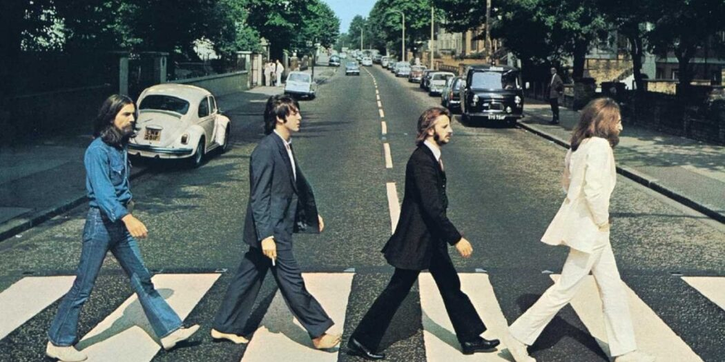 Copertina Abbey Road - The Beatles