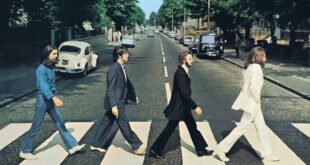 Copertina Abbey Road - The Beatles
